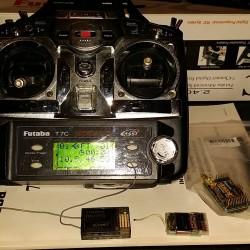 Vends Futaba 7C + UHF – VENDU